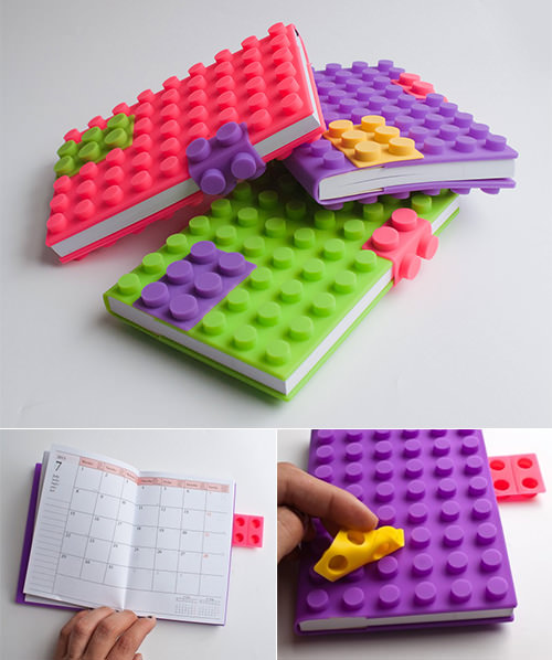 pop block silicone back to school planner