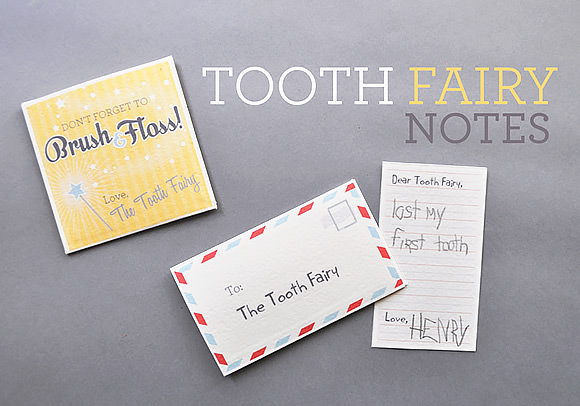 photograph about Free Printable Tooth Fairy Letters titled Printable Teeth Fairy Notes ⋆ Homemade Charlotte
