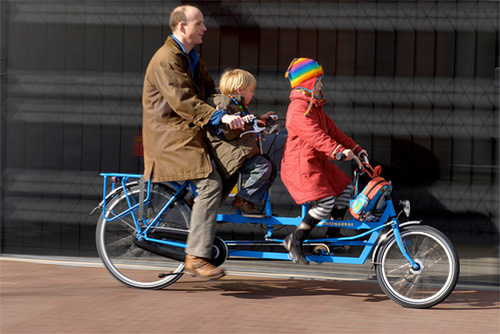 Onderwater Tandem Dutch Family Bicycle