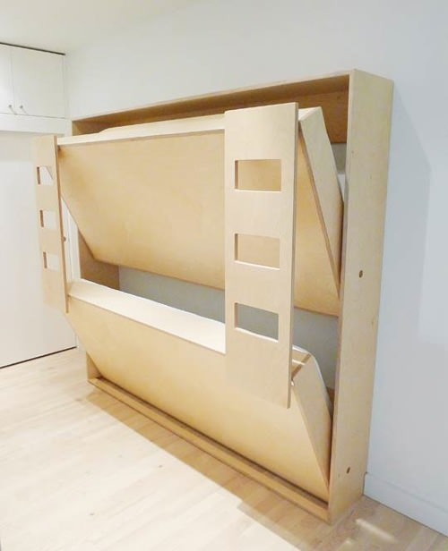 double murphy bunk beds for kids - Bunk Beds For Kids Plans