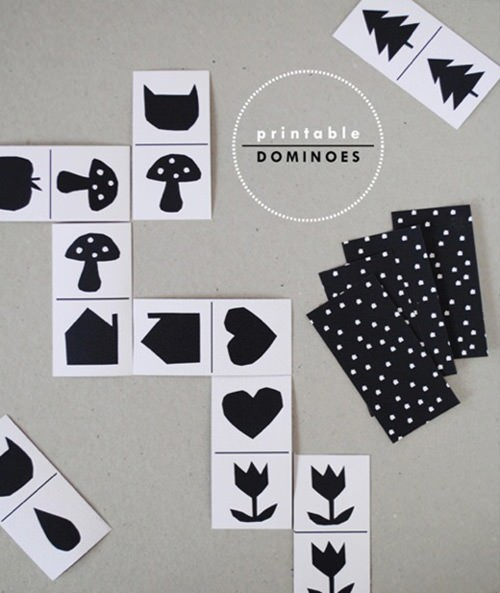 Printable Dominoes for Kids
