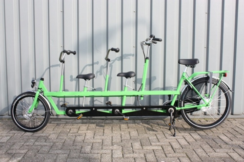 Onderwater Kids Tandem XL Dutch Family Bike