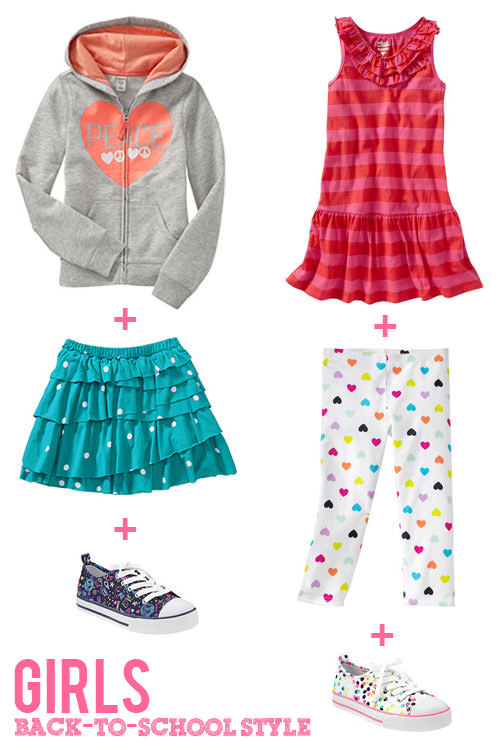 old navy back-to-school sale girls