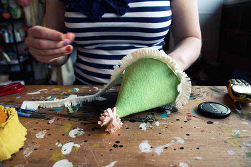 DIY Felt Party Hats