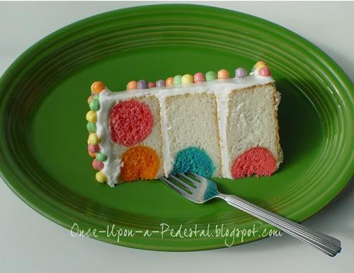 How To Make A Polka Dot Birthday Cake