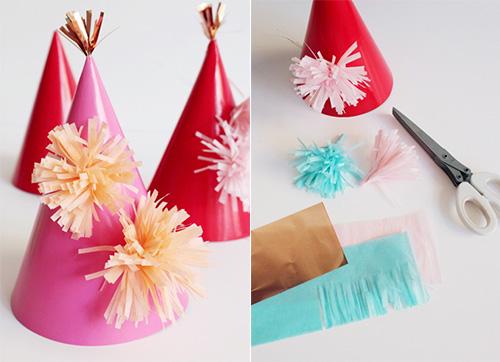 DIY Pompom Hat