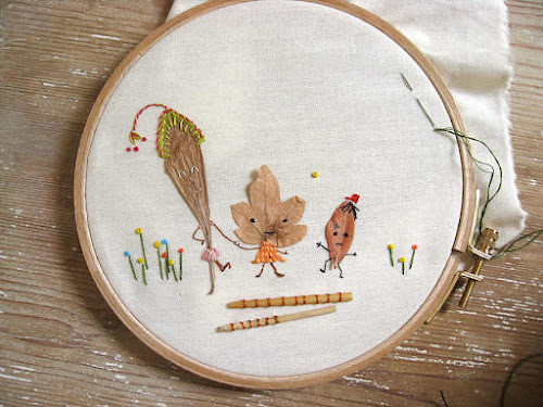 Misako Mimoko Embroidery
