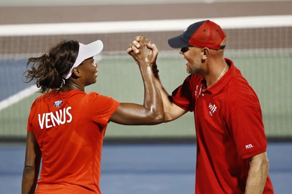 Murphy Jensen and Venus Williams