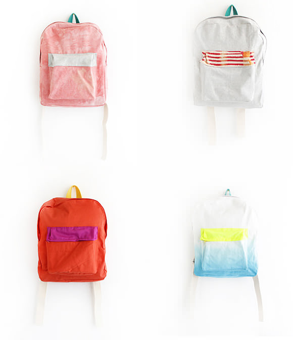 Mini Backpacks for Kids by Ziazia on Etsy