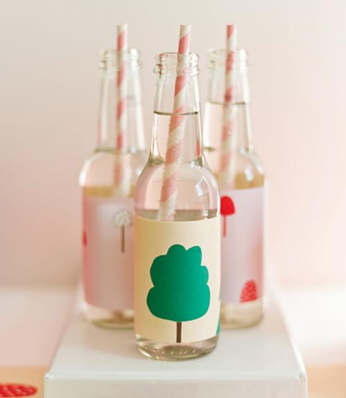 DIY Lemonade Bottle Labels