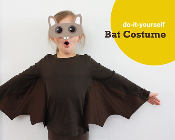 DIY Bat Costume for Halloween