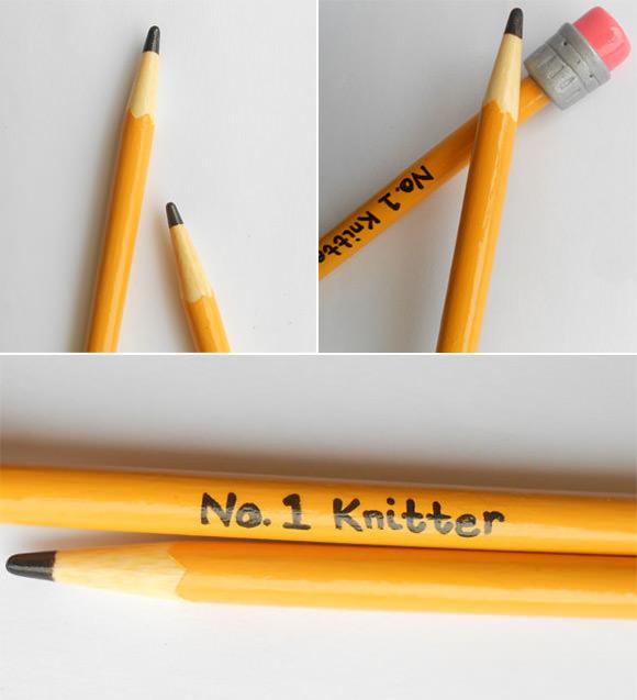 No. 1 Knitter Pencil Knitting Needles