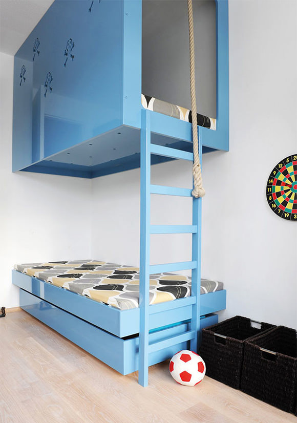Kids Room Bunk Beds 580 x 826