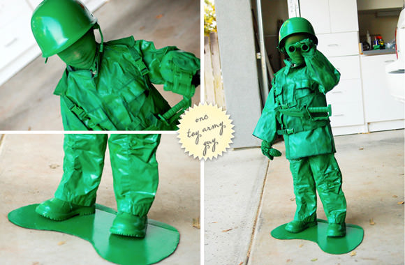 DIY Toy Soldier Costume
