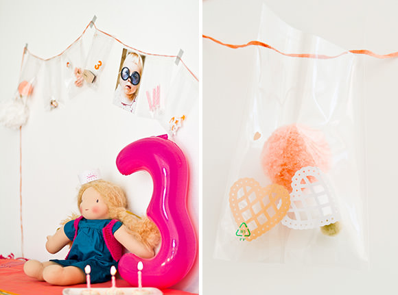 DIY Gift Bag Garland
