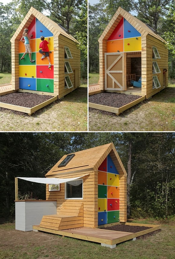 Green eScape Playhouse by ZeroEnergy