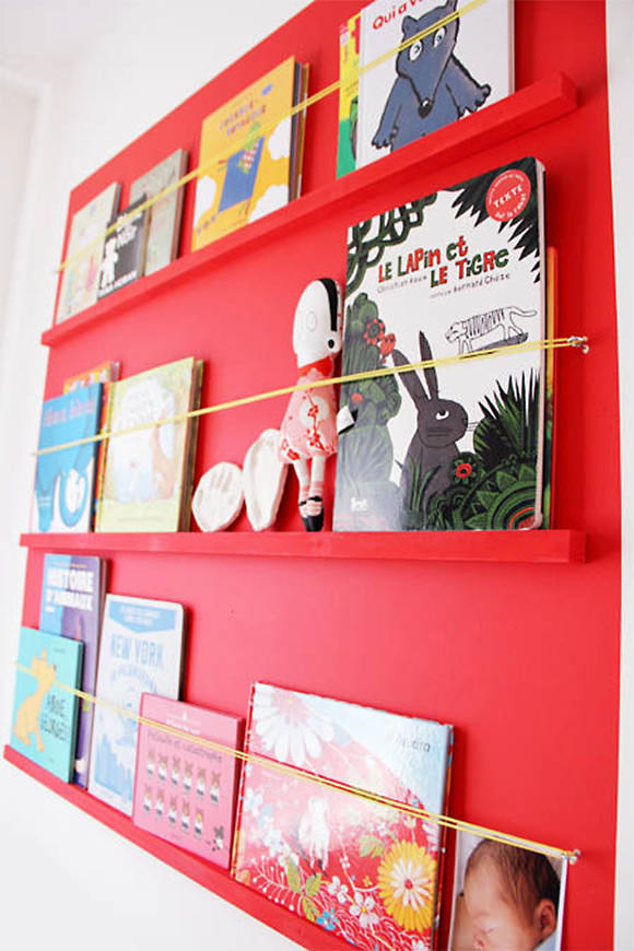 Simple DIY Bookshelf for Kids