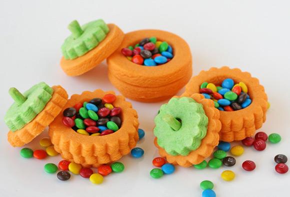 3-D Pumpkin Cookies