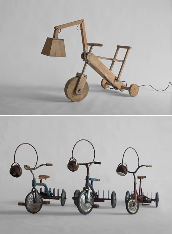 Manoteca Tricycle Lamps