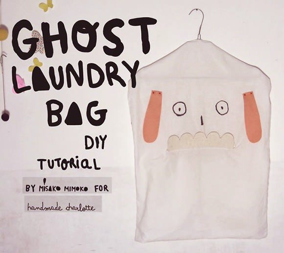 DIY Ghost Laundry Bag