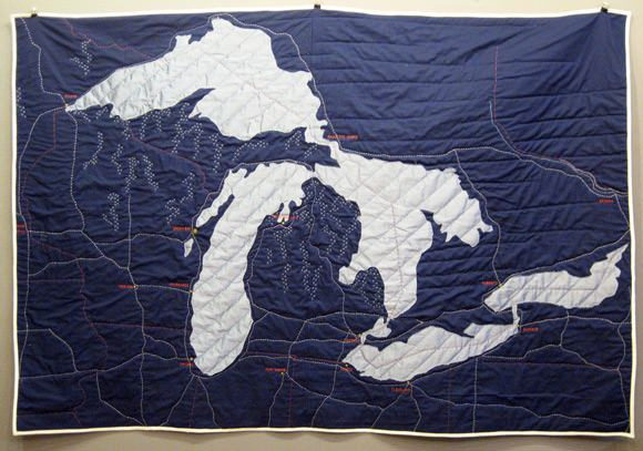 New Great Lakes Quilt by Haptic Labs