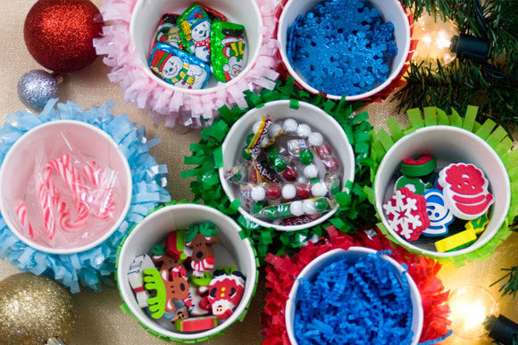 DIY Piñata Advent Calendar