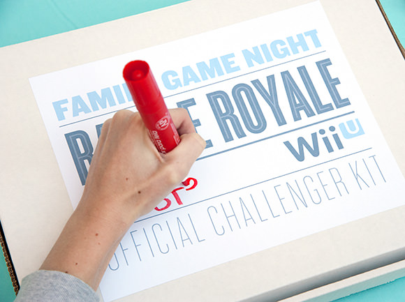 Wii U Family Game Night Challenger Kit