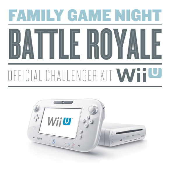 Wii U Family Game Night Official Challenger Kit