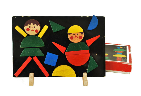 Etsy Vintage Toy Find: Czech Magnetic Puzzle