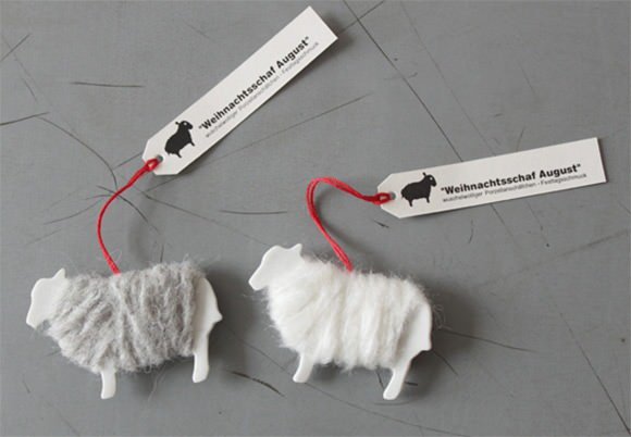 DIY Sheep Gift Tags