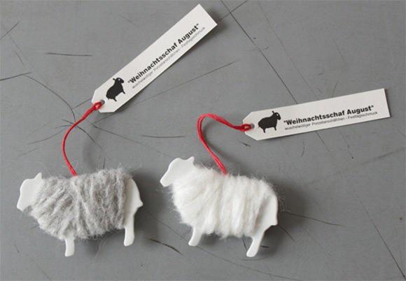 DIY Sheep Gift Tags