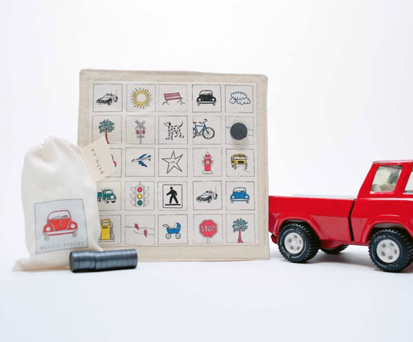 Handmade Car Bingo Travel Game for Kids on Etsy