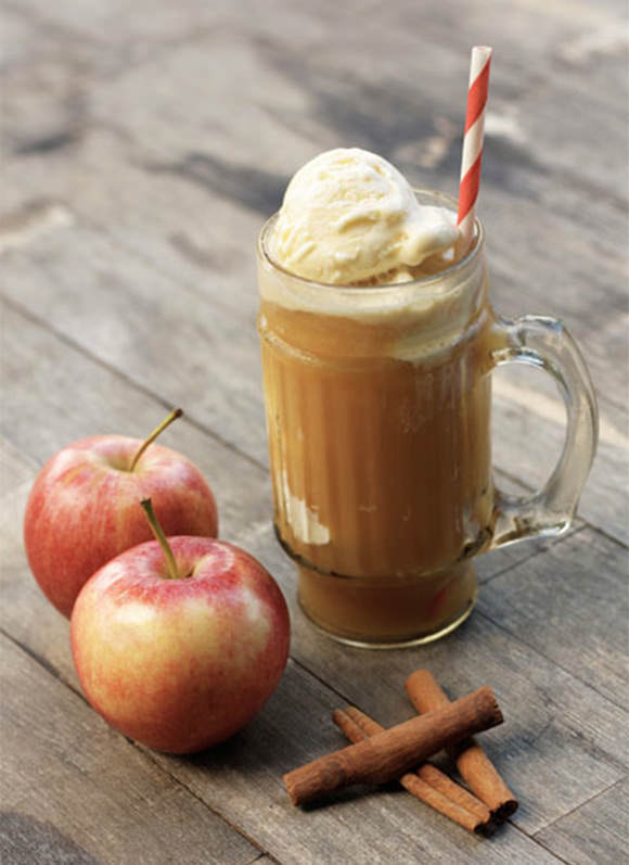 Apple Cider Floats Recipe