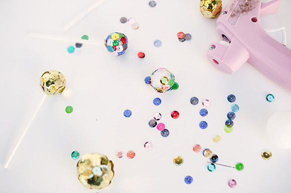 DIY Mini Disco Balls