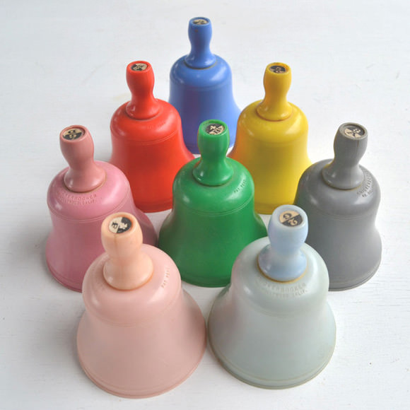 Etsy Vintage Toy Find: Vintage Bell Set