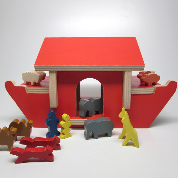 Etsy Vintage Toy Find: Noah's Ark Play Set by Creative Playthings