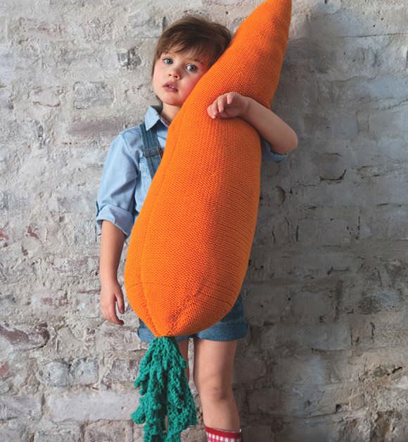 Giant DIY Crochet Carrot