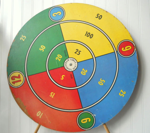 Etsy Vintage Toy Find: Transogram Dart Game