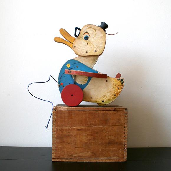 Etsy Vintage Toy Finds: Dr. Doodle Duck