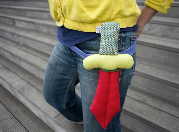 Stocking Stuffers - Plush Dagger by Poc a Poc
