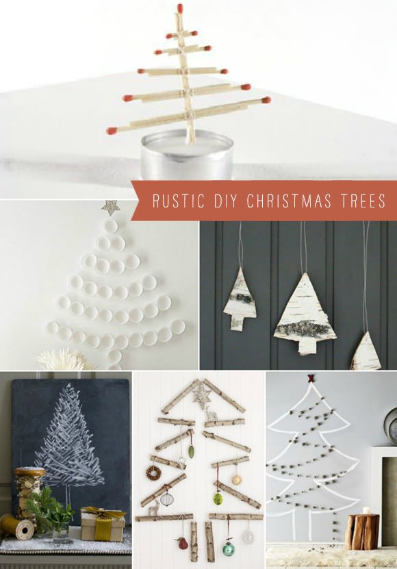 Rustic & Simple DIY Christmas Trees ⋆ Handmade Charlotte