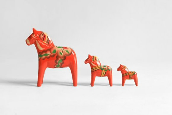 Dala Horse Collection from Hindsvik on Etsy