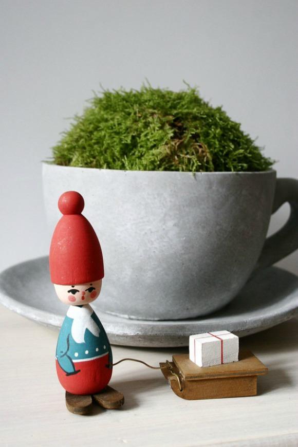 Vintage Swedish Christmas Gnome from Drifva on Etsy
