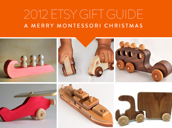 Etsy Gift Guide: A Merry Montessori Christmas