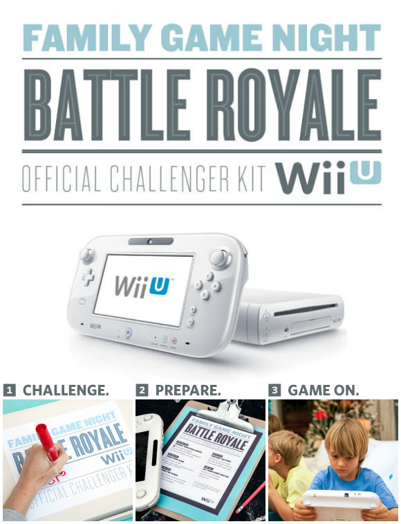 Wii U Family Game Night Challenge