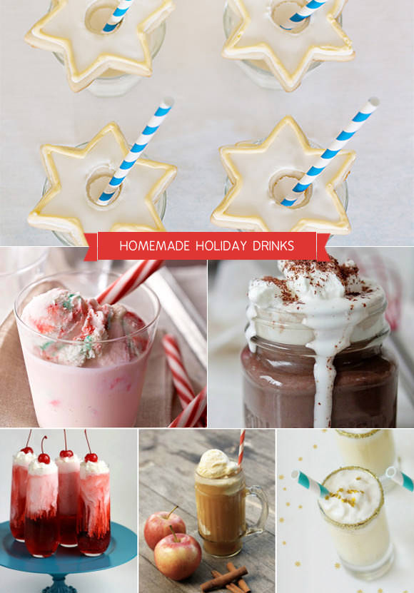 Homemade Holiday Drink Recipes