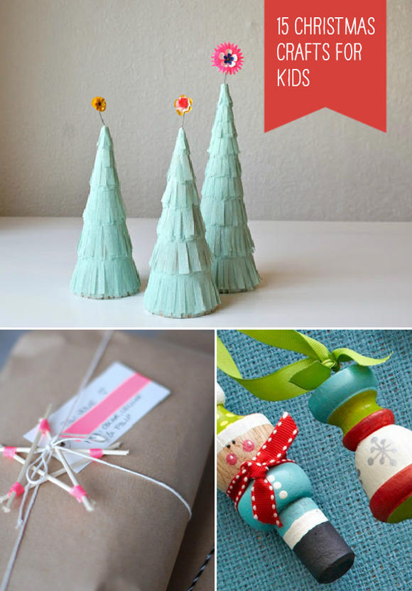 15 simple christmas crafts for kids handmade charlotte
