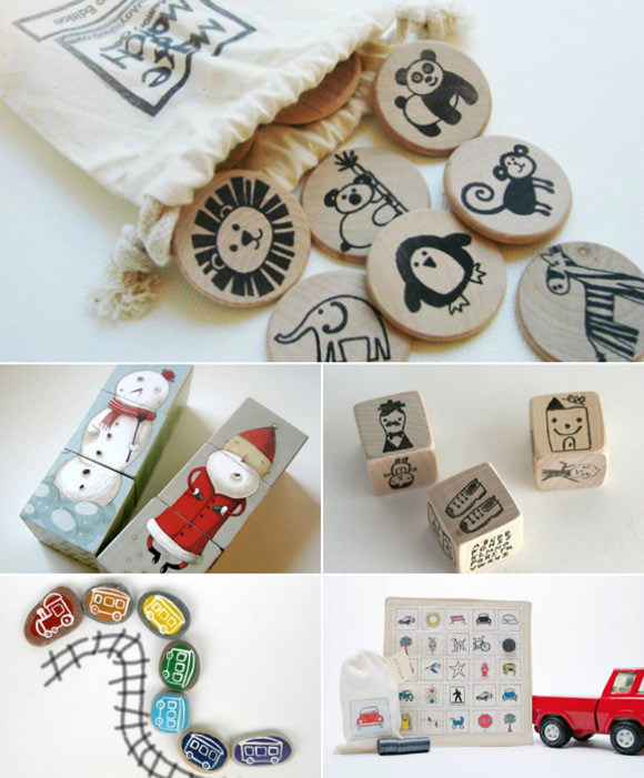 Etsy Finds: Handmade Travel Games for Kids