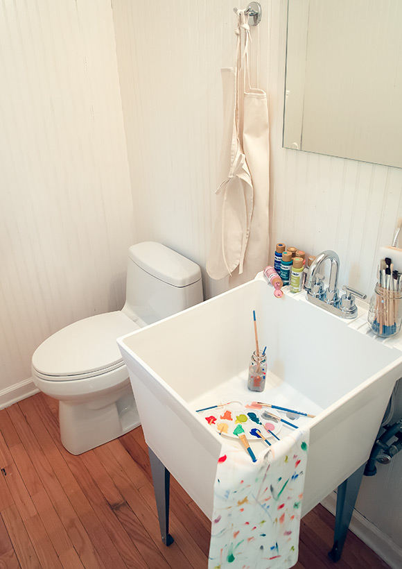 Bon Bathroom Utility Sink