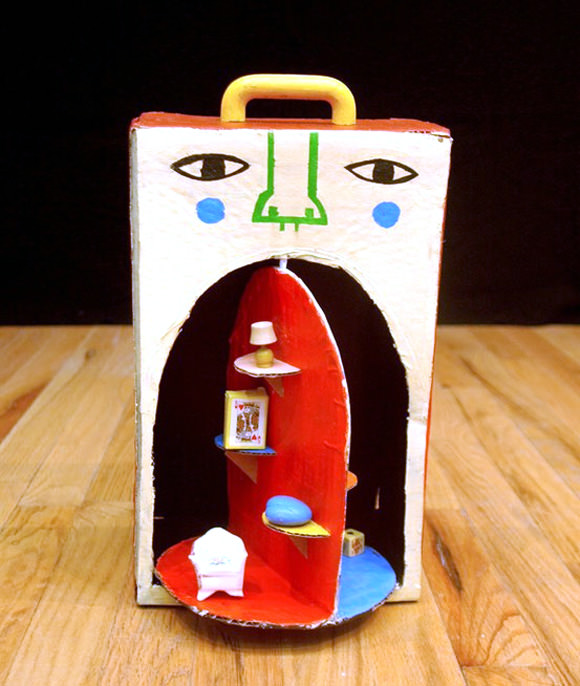 Secret Room In Cardboard by Andre Da Loba